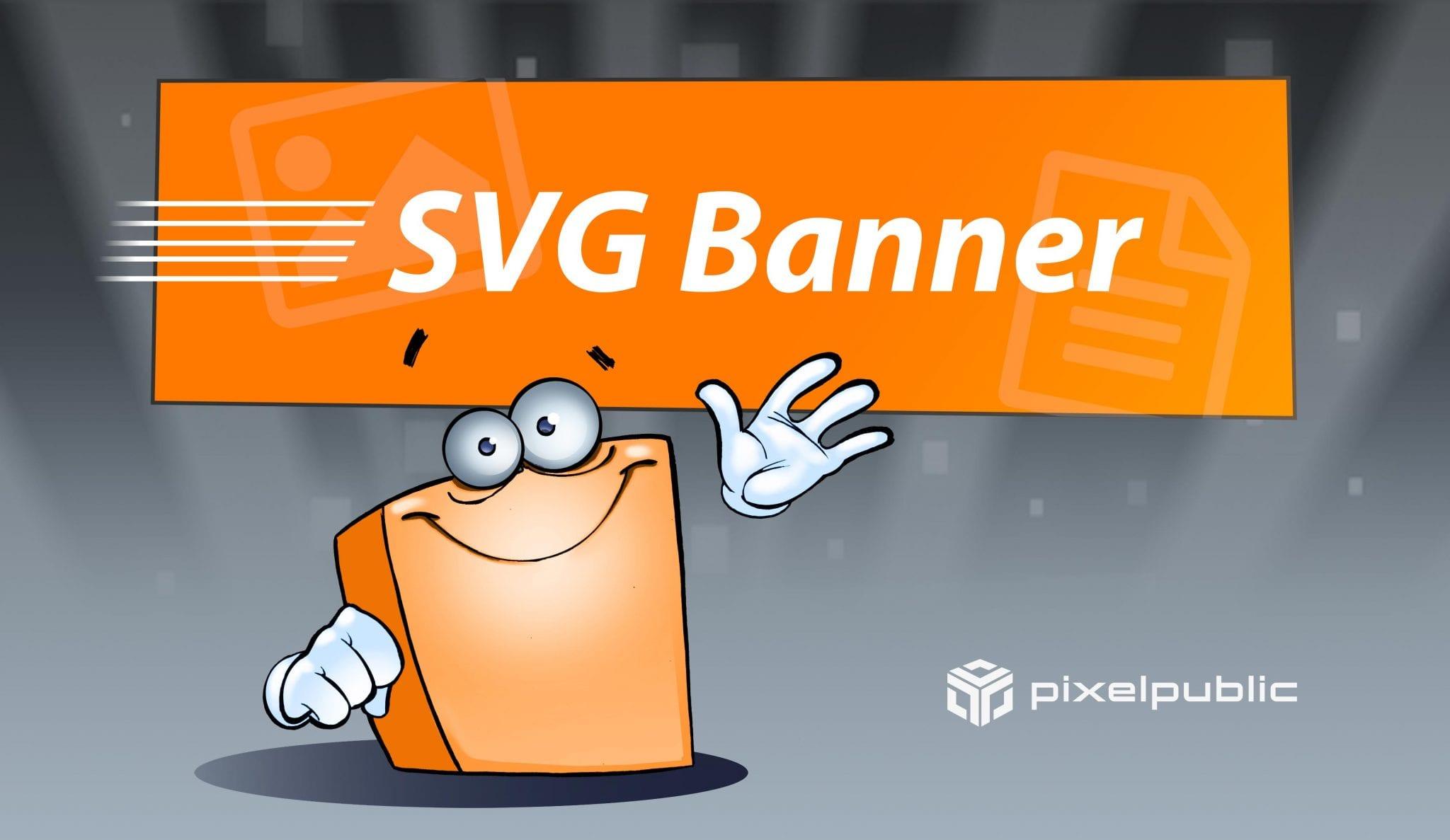 Scalable Vector Graphics für Werbe-Banner