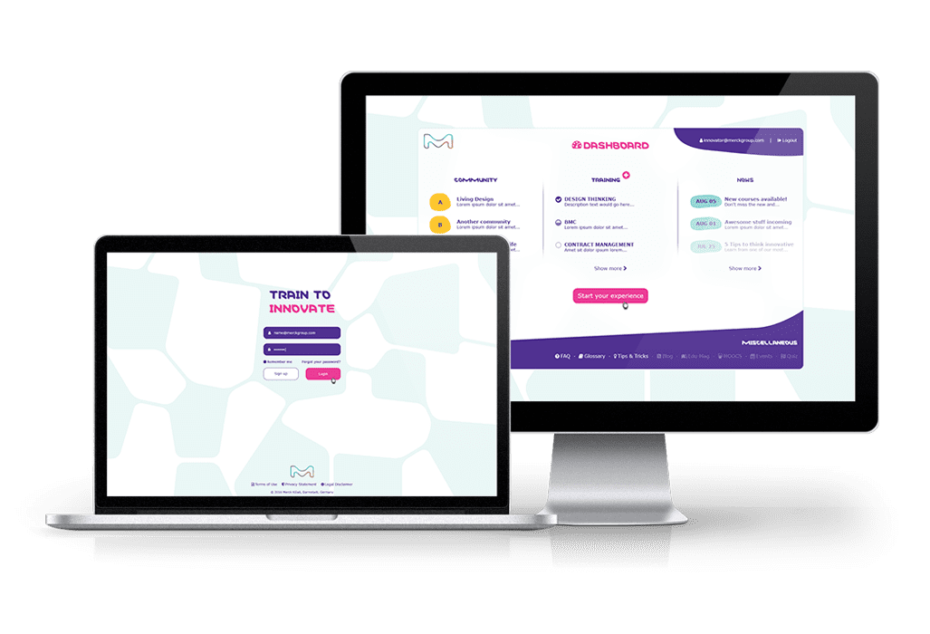 Merck E-Learning – Multimediale Online-Trainingsplattform