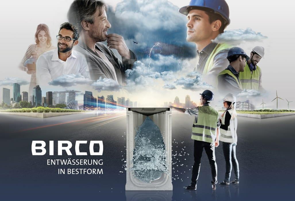 BIRCO | Keyvisual zur Produkteinführung der BIRCOmax-i